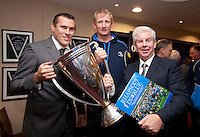 Ciaran Whelan, Leo Cullen and Ray McManus