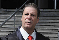 Santo Andre, SP,14 FEVEREIRO 2012- Dr Jose Beraldo assistente de acusacao  no Forum de Santo Andre durante julgamento de Limdeberg no caso Eloa (FOTO: ADRIANO LIMA - NEWS FREE).