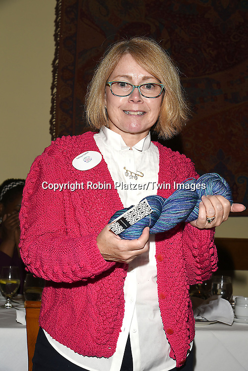 Kathleen Dalton,winner of the competition attends the Big Apple Knitters Guild 25th Annual Luncheon Gala on September 24, 2016 at Kellari Taverna in New York City, New York, USA. <br /> <br /> photo by Robin Platzer/Twin Images<br />  <br /> phone number 212-935-0770