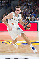 Real Madrid Fabien Causeur during Turkish Airlines Euroleague match between Real Madrid and Khimki Moscow at Wizink Center in Madrid, Spain. November 02, 2017. (ALTERPHOTOS/Borja B.Hojas) /NortePhoto.com