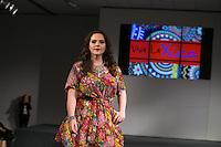 SÃO PAULO, SP, 24.07.2016 - MODA-SP - Desfile da marca Xica Vaidosa durante o 14 Fashion Weekend Plus Size que acontece neste domingo, 24 no Centro de Convenções Frei Caneca. (Foto: Ciça Neder/Brazil Photo Press)