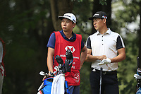 Xinjun Zhang (CHN) during the 2nd round at the WGC HSBC Champions 2018, Sheshan Golf CLub, Shanghai, China. 26/10/2018.<br /> Picture Fran Caffrey / Golffile.ie<br /> <br /> All photo usage must carry mandatory copyright credit (&copy; Golffile | Fran Caffrey)