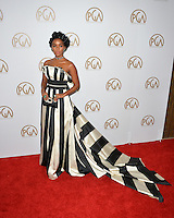 Janelle Monae at the 2017 Producers Guild Awards at The Beverly Hilton Hotel, Beverly Hills, USA 28th January  2017<br /> Picture: Paul Smith/Featureflash/SilverHub 0208 004 5359 sales@silverhubmedia.com