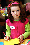 Olivia Smith at the Card Making Workshop in The Library...Photo NEWSFILE/Jenny Matthews.(Photo credit should read Jenny Matthews/NEWSFILE)....This Picture has been sent you under the condtions enclosed by:.Newsfile Ltd..The Studio,.Millmount Abbey,.Drogheda,.Co Meath..Ireland..Tel: +353(0)41-9871240.Fax: +353(0)41-9871260.GSM: +353(0)86-2500958.email: pictures@newsfile.ie.www.newsfile.ie.FTP: 193.120.102.198.