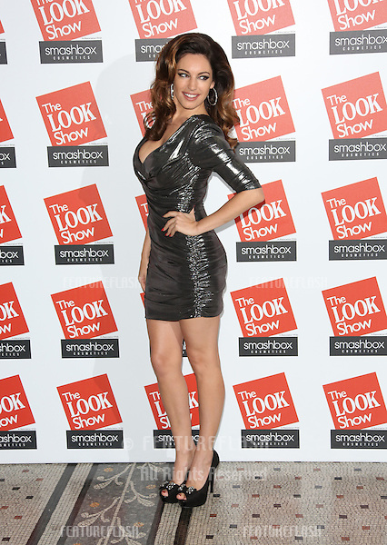 Kelly Brook at The Look fashion show in association with Smashbox cosmetics held at the Royal Courts of Justice, London. 06/10/2012 Picture by: Henry Harris / Featureflash