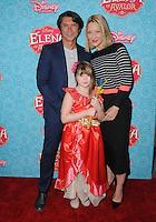 "16 July 2016 - Beverly Hills, California. Lou Diamond Phillips, Yvonne Boismier Phillips. Arrivals for the Los Angeles VIP screening for Disney's ""Elena of Avalor"" held at Paley Center for Media. Photo Credit: Birdie Thompson/AdMedia"