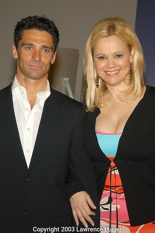 Caroline Rhea with friend David