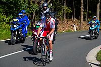 Picture by Alex Whitehead/SWpix.com - 28/09/2018 - Cycling - UCI 2018 Road World Championships - Innsbruck-Tirol, Austria - U23 Men's Road Race - Szymon Tracz of Poland.