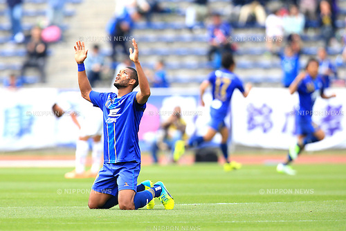Calvin Jong a Pin (Zelvia), APRIL 23, 2016 - Football /Soccer : 2016 J2 League match between FC Machida Zelvia 1-0 V.Varen Nagasaki at Machida Stadium, Tokyo, Japan.  (Photo by AFLO SPORT)