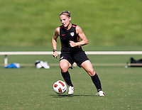 Amy Rodriguez. The USWNT practice at WakeMed Soccer Park in preparation for their game with Japan.