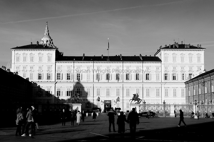 Palazzo Reale, constructed from 1646 in Piazza Castello in the historic centre of Turin, Italy