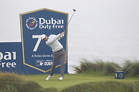 Lucas Bjerregaard (DEN) on the 7th tee during Round 2 of the Irish Open at LaHinch Golf Club, LaHinch, Co. Clare on Friday 5th July 2019.<br /> Picture:  Thos Caffrey / Golffile<br /> <br /> All photos usage must carry mandatory copyright credit (© Golffile | Thos Caffrey)