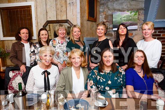 St Itas & St Josephs National School staff enjoying a night out at Croi the Square on Friday Pictured front l-r Deirdre Donaghy, Aoife O'Connor, Ellen O'Rahilly, Lindsey Dowling Back l-r Colin Shanahan, Laura Healy, Eileen O'Loughlin, Noreen Flaherty, Helen O'Riordan, Rita O'Connor, Joanne Devane