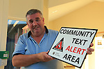 John Kierans at the Community text alert meeting in Seapoint golf club<br /> Picture:  Fran Caffrey / www.newsfile.ie
