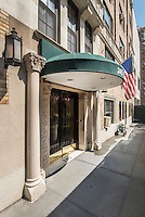 Entrance at 245 East 72nd Street