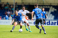 Leroy Fer in action during the Pre Season friendly match between Swansea City and Rovers played at the Memorial Stadium, Bristol on July 23rd 2016