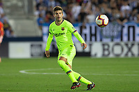 Gerard Pique of FC Barcelona during the match between CD Leganes v FC Barcelona of LaLiga, date 6, 2018-2019 season. Municipal de Butarque Stadium. Madrid, Spain - 26 SEP 2018.