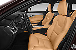 Front seat view of a 2018 Volvo V90 Corss Country Pro 5 Door Wagon front seat car photos