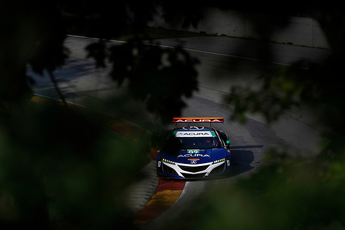 IMSA WeatherTech SportsCar Championship<br /> Continental Tire Road Race Showcase<br /> Road America, Elkhart Lake, WI USA<br /> Sunday 6 August 2017<br /> 93, Acura, Acura NSX, GTD, Andy Lally, Katherine Legge<br /> World Copyright: Michael L. Levitt<br /> LAT Images
