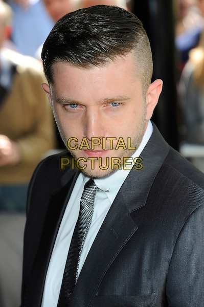 Ben Drew (Plan B) .58th annual Ivor Novello songwriting and composing awards, Grosvenor House, London, England, UK, 16th May 2013..portrait headshot suit tie grey gray .CAP/CJ.©Chris Joseph/Capital Pictures.