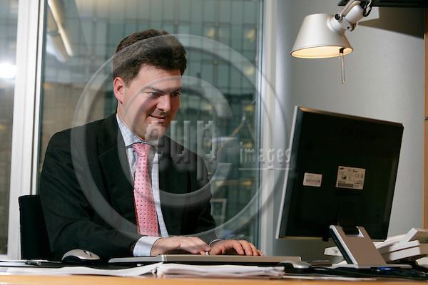 BRUSSELS - BELGIUM - 27 FEBRUARY 2007 -- MEP Andreas SCHWAB.   PHOTO: ERIK LUNTANG