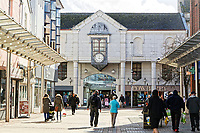 Pictured: Vaughan Street in the LLanelli town centre. Wednesday 09 March 2018<br /> Re: The effect that the Scarlets RFC has had in the town of Llanelli in Carmarthenshire and the west Wales region.