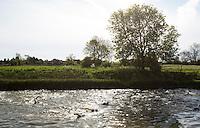 26 MAY 2013 - BRIGG, GBR - Competitors start the 1500m swim of the 2013 Brigg Bomber Quadrathlon, a World Quadrathlon Federation World Cup round and the British Championships, held in Brigg in Lincolnshire, Great Britain (PHOTO (C) 2013 NIGEL FARROW)