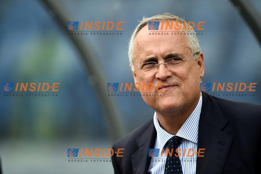 Lazio president Claudio Lotito <br /> Roma 29-9-2019 Stadio Olimpico <br /> Football Serie A 2019/2020 <br /> SS Lazio - Genoa CFC <br /> Foto Andrea Staccioli / Insidefoto
