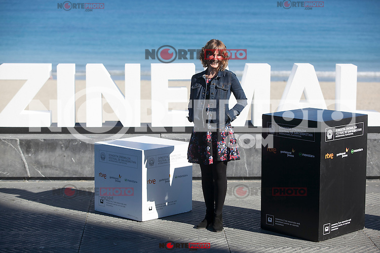 Actress Nagore Aranburu poses during `Amama´ film presenation at 63rd Donostia Zinemaldia (San Sebastian International Film Festival) in San Sebastian, Spain. September 21, 2015. (ALTERPHOTOS/Victor Blanco) /NortePhoto.com