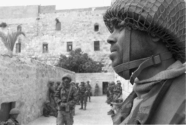 Six Day War, Israeli soldiers at Wailing Wall at time of Jerusalem storming, Six Day War, Israel, June 1967