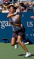 Dinara Safina (RUS) (1) against  Kristina Barrois (GER) in the seocnd round. Safina beat Barrois 6-7 6-2 6-3 ..International Tennis - US Open - Day 3 Wed 02 Sep 2009 - USTA Billie Jean King National Tennis Center - Flushing - New York - USA ..© Frey, Advantage Media Network, Level 1, Barry House, 20-22 Worple Road, London, SW19 4DH +44 208 947 0100..