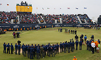 Scene at the 18th hole; Jordan Spieth (USA) is the Champion Golfer winning Sunday's Final Round at The 146th Open played at Royal Birkdale, Southport, England.  23/07/2017. Picture: David Lloyd | Golffile.<br /> <br /> Images must display mandatory copyright credit - (Copyright: David Lloyd | Golffile).