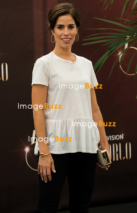 "Ana Ortiz ""Devious Maids"" attends photocall at the Grimaldi Foruml on June 10, 2014 in Monte-Carlo, Monaco."