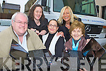 Kerry Flyer and and the North and East Kerry development who has launched a bus where you can plug in yoiur labtop and go online andy where in Kerry l-r: David Fitzgibbon NEKD, Nicola Lawless Kerry Flyer, Patricia Dowling NEKD, Martina Ryan-Leahy and Bridie Mulvihill both Listowel Resource Centre