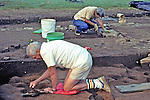 Bill Digging At Archeological Site