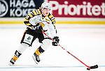 ***BETALBILD***  <br /> Stockholm 2015-09-19 Ishockey SHL Djurg&aring;rdens IF - Skellefte&aring; AIK :  <br /> Skellefte&aring;s Sebastian Aho i aktion under matchen mellan Djurg&aring;rdens IF och Skellefte&aring; AIK <br /> (Foto: Kenta J&ouml;nsson) Nyckelord:  Ishockey Hockey SHL Hovet Johanneshovs Isstadion Djurg&aring;rden DIF Skellefte&aring; SAIK portr&auml;tt portrait