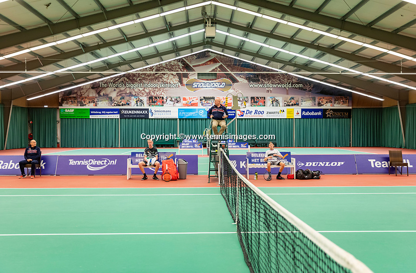 Wateringen, The Netherlands, December 8,  2019, De Rhijenhof , NOJK juniors 14 and18 years, Finals<br /> Photo: www.tennisimages.com/Henk Koster