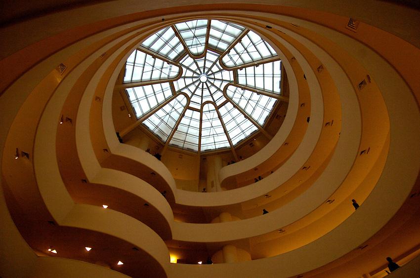 Guggenheim Museum, New York City.  Bob Gathany photo.