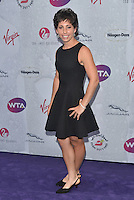 Carla Suarez Navarro at WTA pre-Wimbledon Party at The Roof Gardens, Kensington on june 23rd 2016 in London, England.<br /> CAP/PL<br /> &copy;Phil Loftus/Capital Pictures /MediaPunch ***NORTH AND SOUTH AMERICAS ONLY***