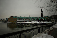 A general view of the Hoboken station it's see on Mar 03,2015. The United Nations this week named Hoboken as a role model when it comes to its plans for flood protection. The city its also the second one on this category in the U.S Hoboken. Kena Betancur/VIEWpress.
