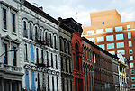 Whiskey Row is an historic area in downtown Louisville where more than 90 whiskey companies resided in the late 1800s and early 1900s.