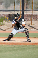 Josh Phegley - Chicago White Sox 2009 Instructional League. .Photo by:  Bill Mitchell/Four Seam Images..