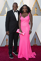 Julius Tennon and Viola Davis arrive on the red carpet of The 90th Oscars&reg; at the Dolby&reg; Theatre in Hollywood, CA on Sunday, March 4, 2018.<br /> *Editorial Use Only*<br /> CAP/PLF/AMPAS<br /> Supplied by Capital Pictures