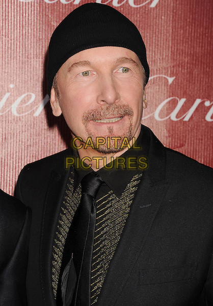 PALM SPRINGS, CA- JANUARY 04: Musician The Edge of U2 arrives at the 25th Annual Palm Springs International Film Festival Awards Gala at Palm Springs Convention Center on January 4, 2014 in Palm Springs, California.<br /> CAP/ROT/TM<br /> &copy;Tony Michaels/Roth Stock/Capital Pictures
