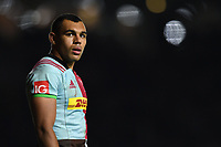 Joe Marchant of Harlequins looks on. Aviva Premiership match, between Harlequins and Sale Sharks on October 6, 2017 at the Twickenham Stoop in London, England. Photo by: Patrick Khachfe / JMP