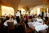 USA, California, Healdsburg, inside Dry Creek Kitchen which is set on Healdsburg's historic tree lined plaza