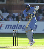 .13/07/2002.Sport - Cricket -NatWest Series Final- Lords.England vs India. Anil Kumble.