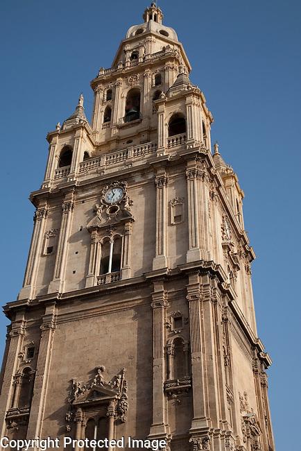 Murcia Santa Maria Cathedral Church Tower in Spain