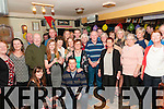 Double celebration : Twins Joan & Paddy Moloney, Listowel celebrating their 70th birthday with family & friends at a surprise party at the Saddle Bar, Listowel on Saturday night last.
