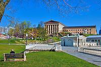 Museum of Art, Waterworks, Buildings, Philadelphia Pennyslvania